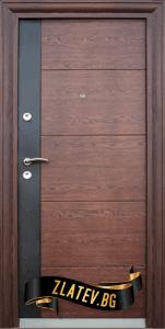 Блиндирана входна врата модел 616-C от Врати Златев