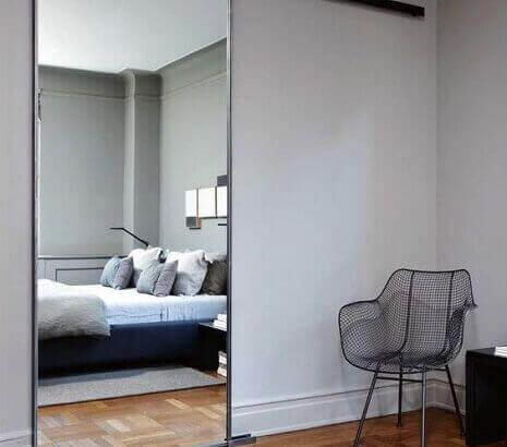 Интериорни врати с огледало