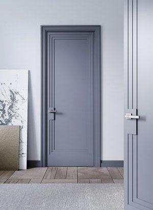 Правилен цвят на интериорната врата